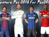 Kit Texture PES 2018 untuk PES 2017