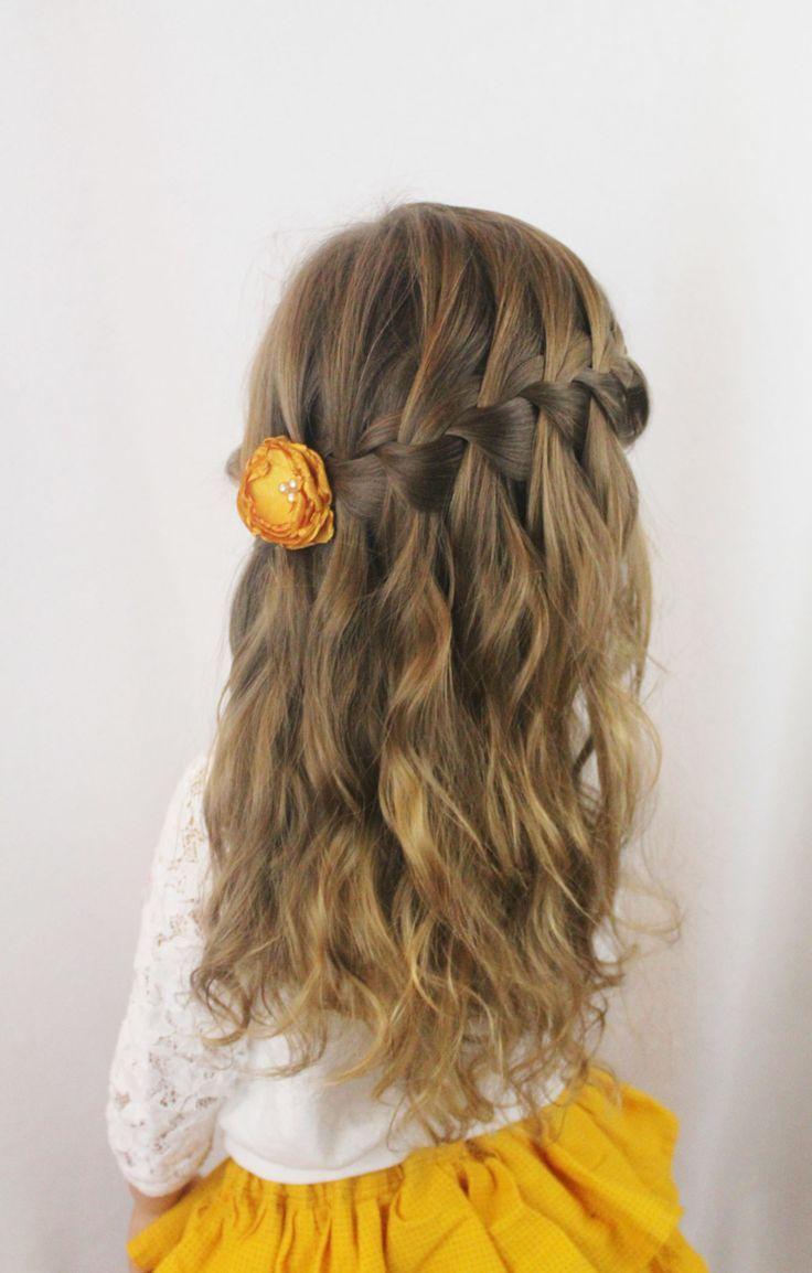 Peinados con pelo recogido para ninas