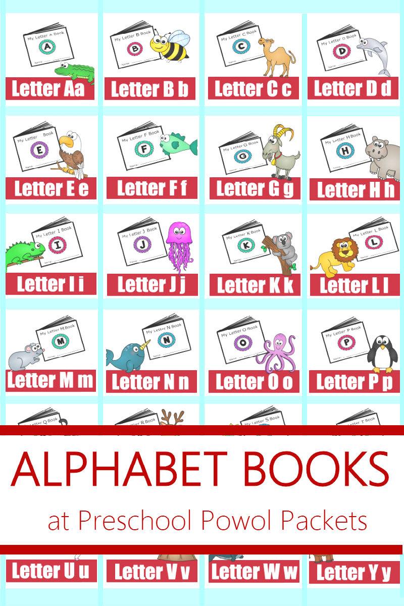 Letter D Free Printable Minibook Alphabet Series | Preschool Powol ...