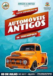 XXXV Exposição de Automóveis Antigos de Teresópolis RJ