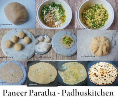 How to make paneer paratha