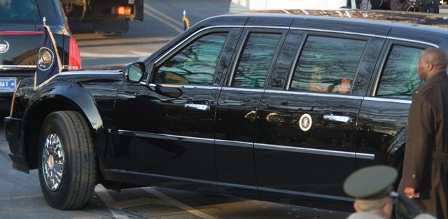 Cade a limousine do Obama? Fotos e equipamentos da limusine de Obama abril 10, 2018