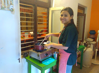 Learning to cook a Tamilian Meal