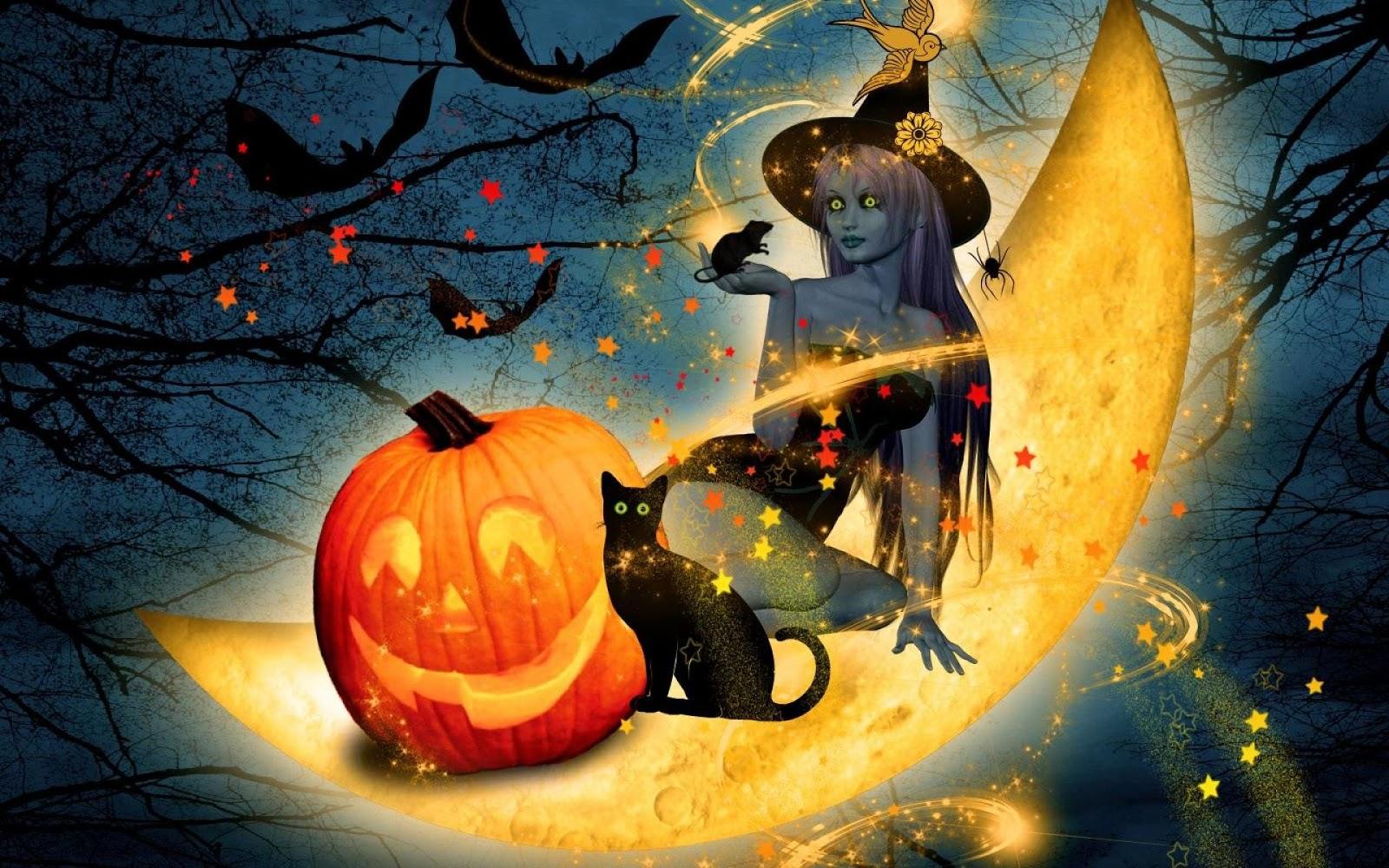 Fond d'écran 3d halloween - Fonds d'écran HD