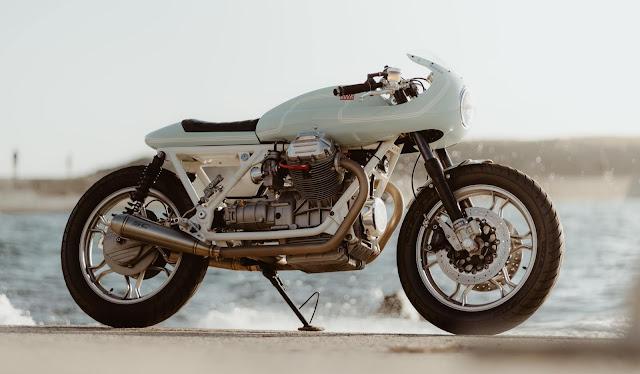 Moto Guzzi V1000 G5 By Sur Les Chapeaux De Roues Hell Kustom
