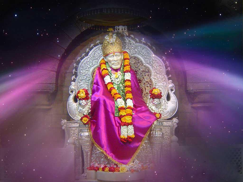 Amazing Sai Baba HD Desktop Wallpaper, Images | Festival Chaska