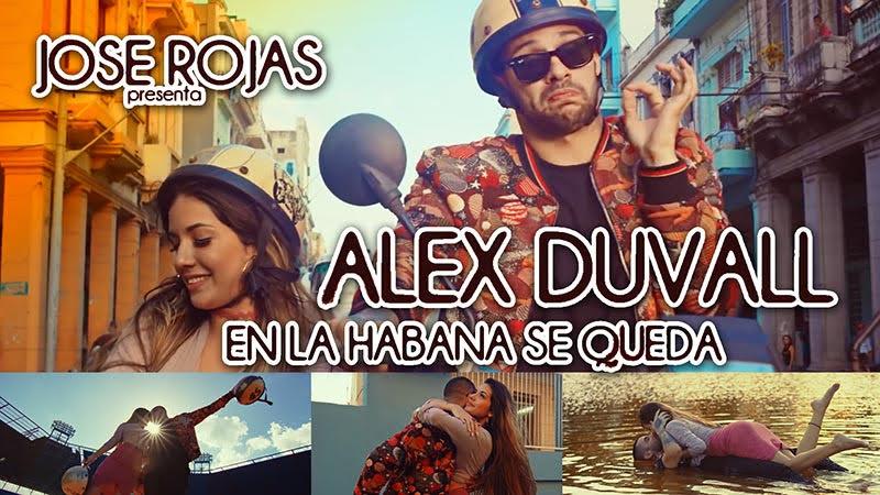 Alex Duvall - ¨En La Habana se queda¨ - Videoclip - Director: José Rojas. Portal Del Vídeo Clip Cubano