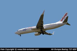 AVIÓN BOEING 737 NEXT GEN EC-LYR