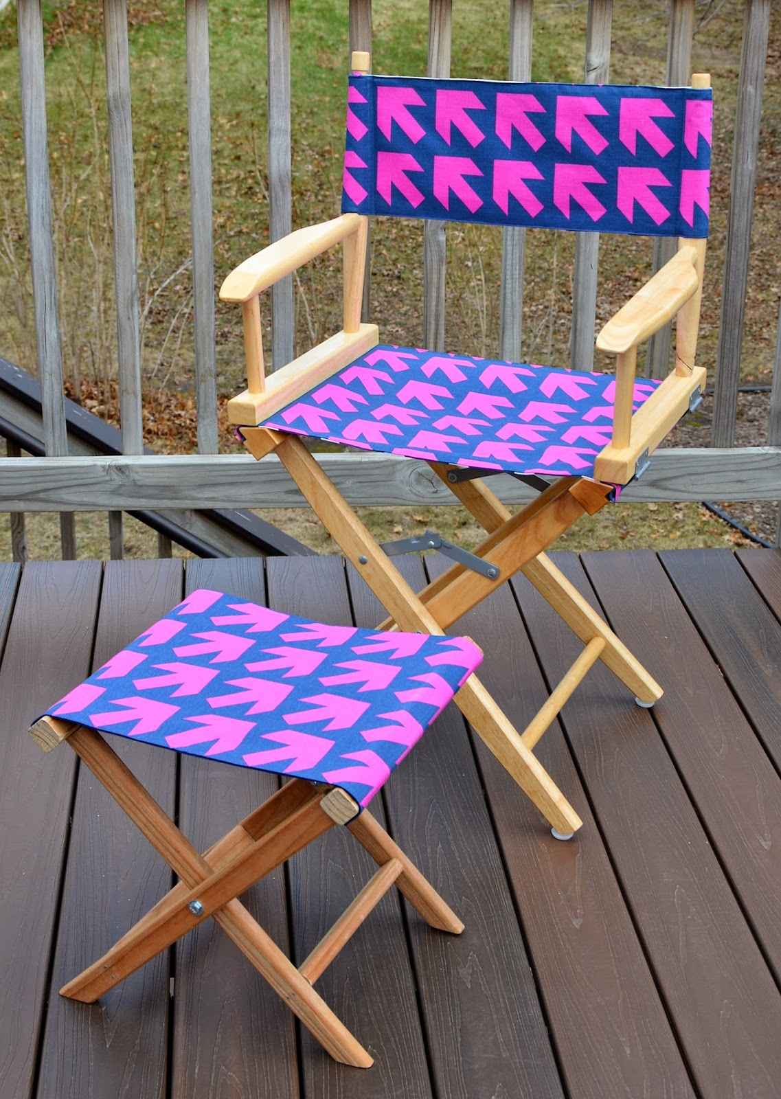 They Also Make Good Footrests For The Directoru0027s Chair In Yesterdayu0027s Post.