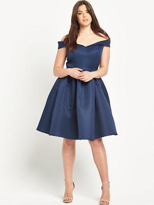 Modelos de vestidos para gorditas de graduacion