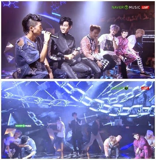 2pm Perform Remix Of Go Crazy Live At Pre Party Daily K Pop News