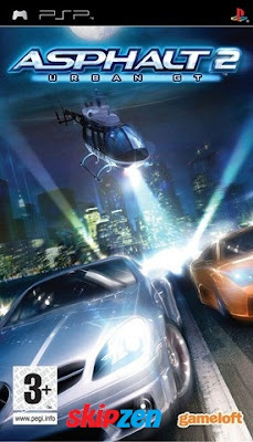 Download Game Asphalt - Urban GT 2 Europe PSP Highly Compressed