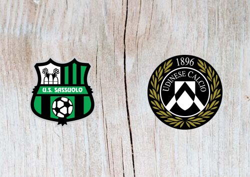 Sassuolo vs Udinese - Highlights 02 December 2018