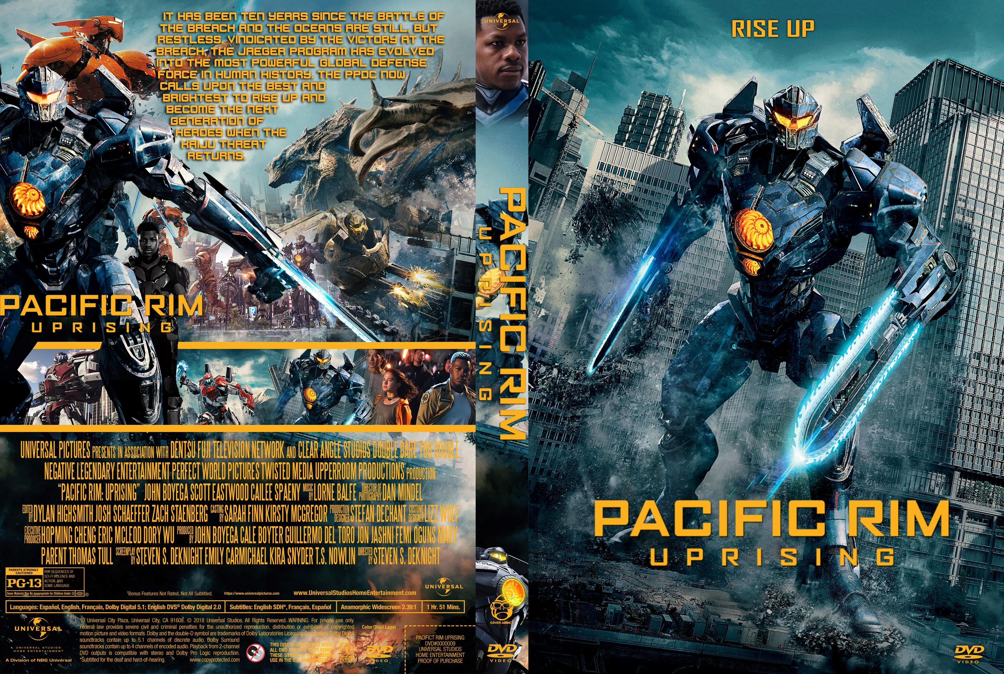 Pacific Rim Uprising DVD Cover | Cover Addict - Free DVD ... Pacific Rim Dvd Cover Art