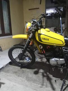 Dijual yamaha DT100 Enduro th77