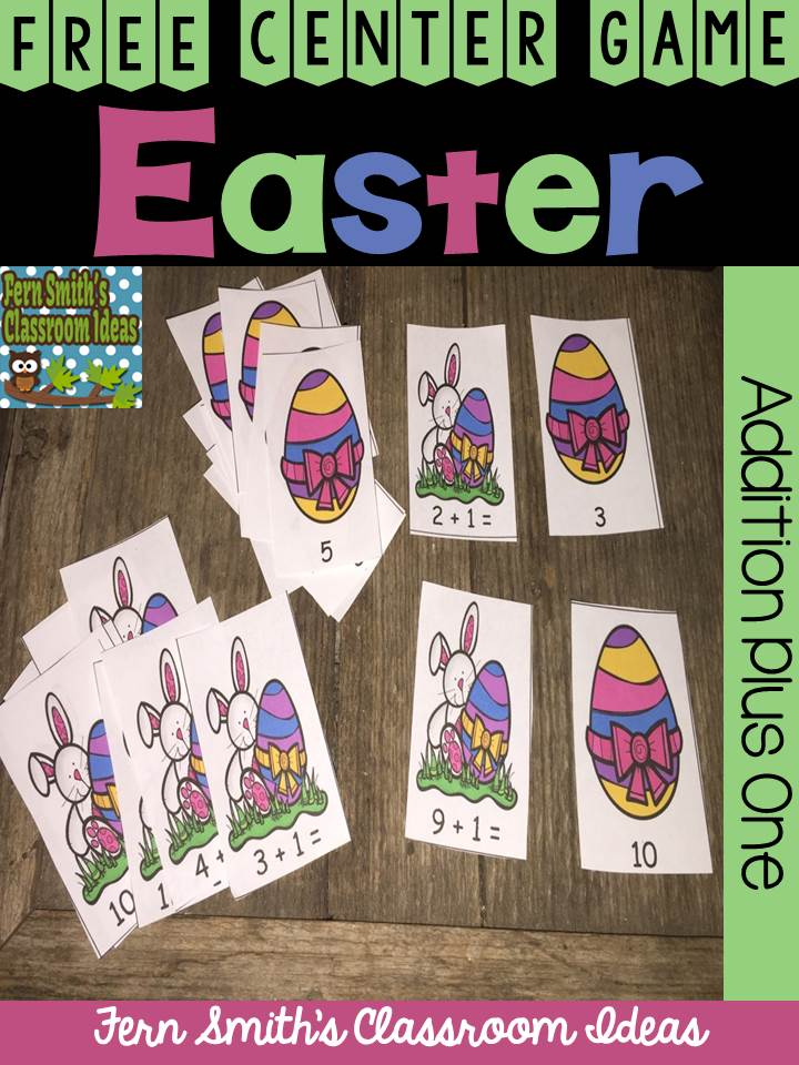 Tuesday Teacher Tips: Easter at Fern Smith's Classroom Ideas and Easter Resources at Fern Smith's Classroom Ideas TeachersPayTeachers {TPT} Store.