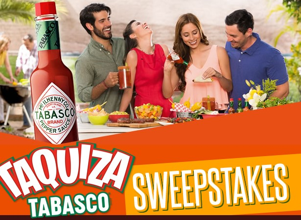 Tabasco wants you to spice up your family moments this summer by giving you the chance to enter weekly to win a prize package with a Taquiza Grilling Kit and a $100 Gift Card!