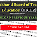 UBTER Previous year Question paper - Download PDF
