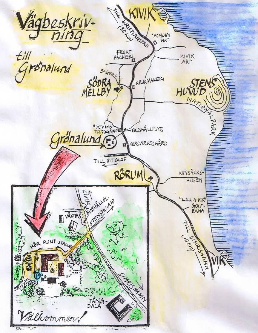 stenshuvud karta Österlens Bokcafé: juli 2012 stenshuvud karta