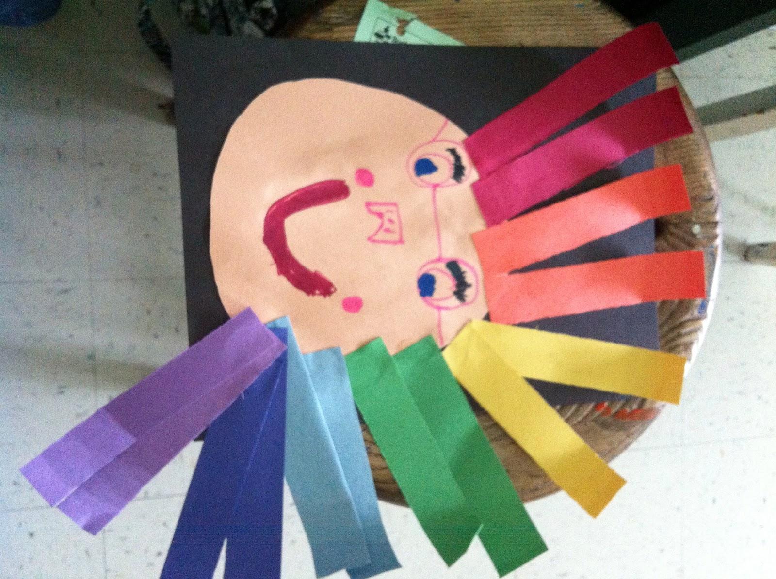 Art Room 104 Roy G Biv Has Rainbow Colored Hair