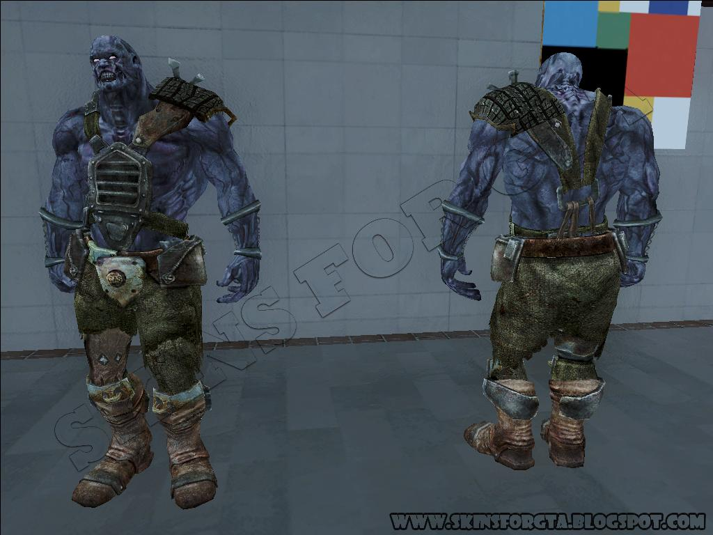 Skins For Gta Gta Sa Skin Super Mutant Nightkin From Fallout New