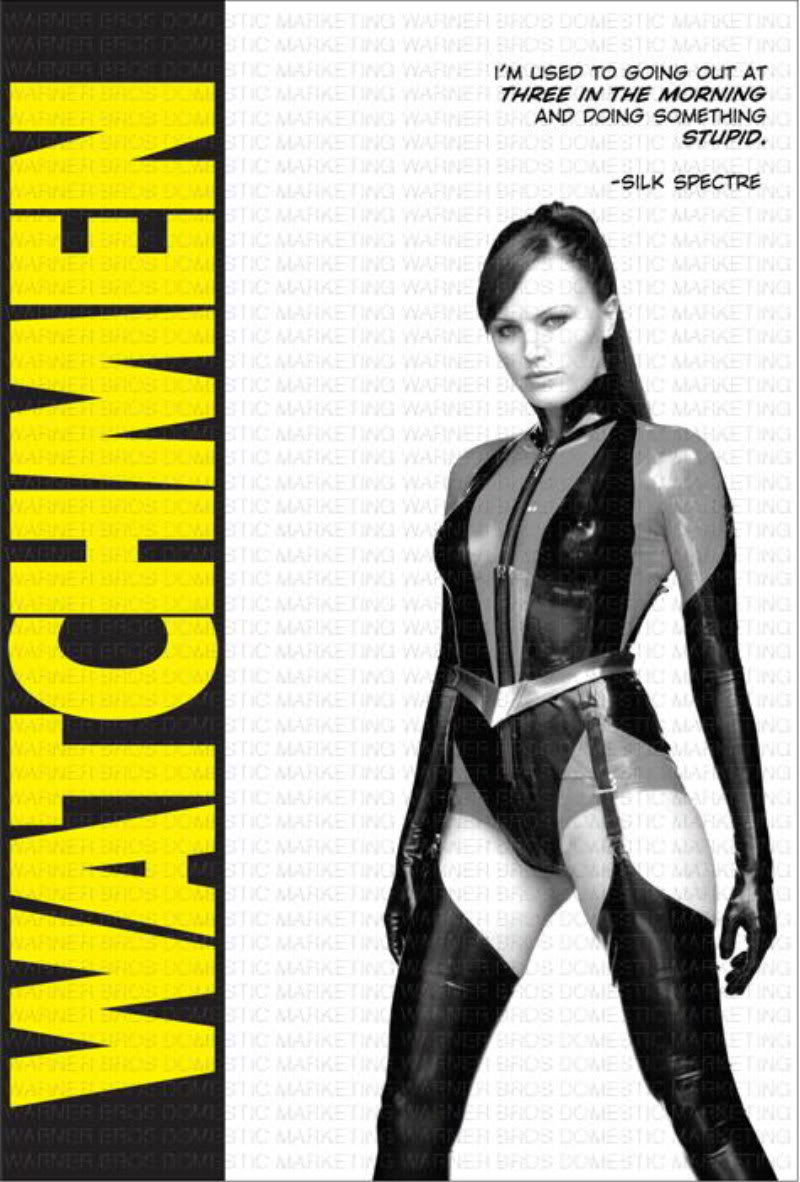 The Geeky Nerfherder: Movie Poster Art: Watchmen (2009)