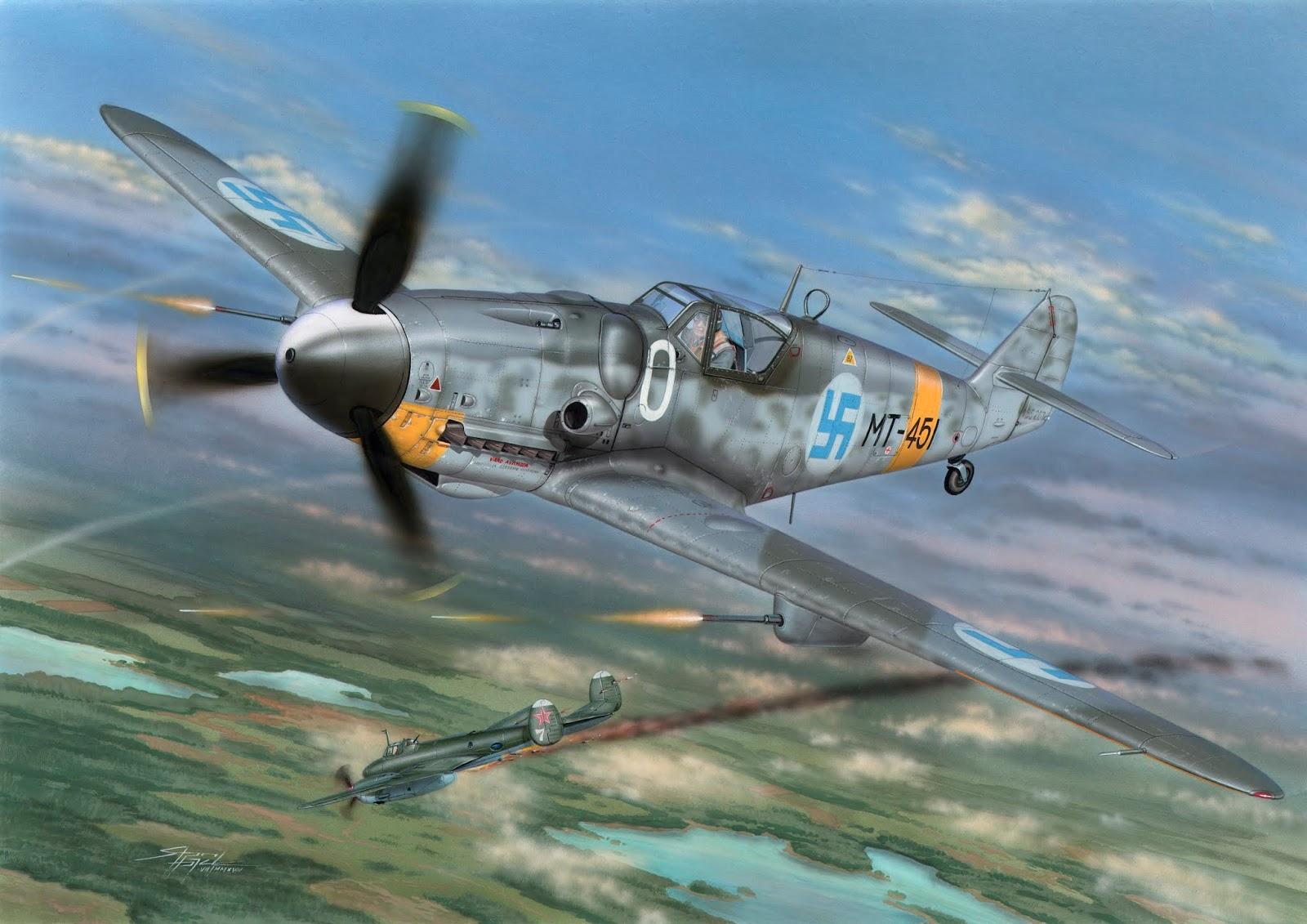 Special Hobby 100-SH72394 Messerschmitt BF-109G-6 Mersu over Finla Mersu over Fi
