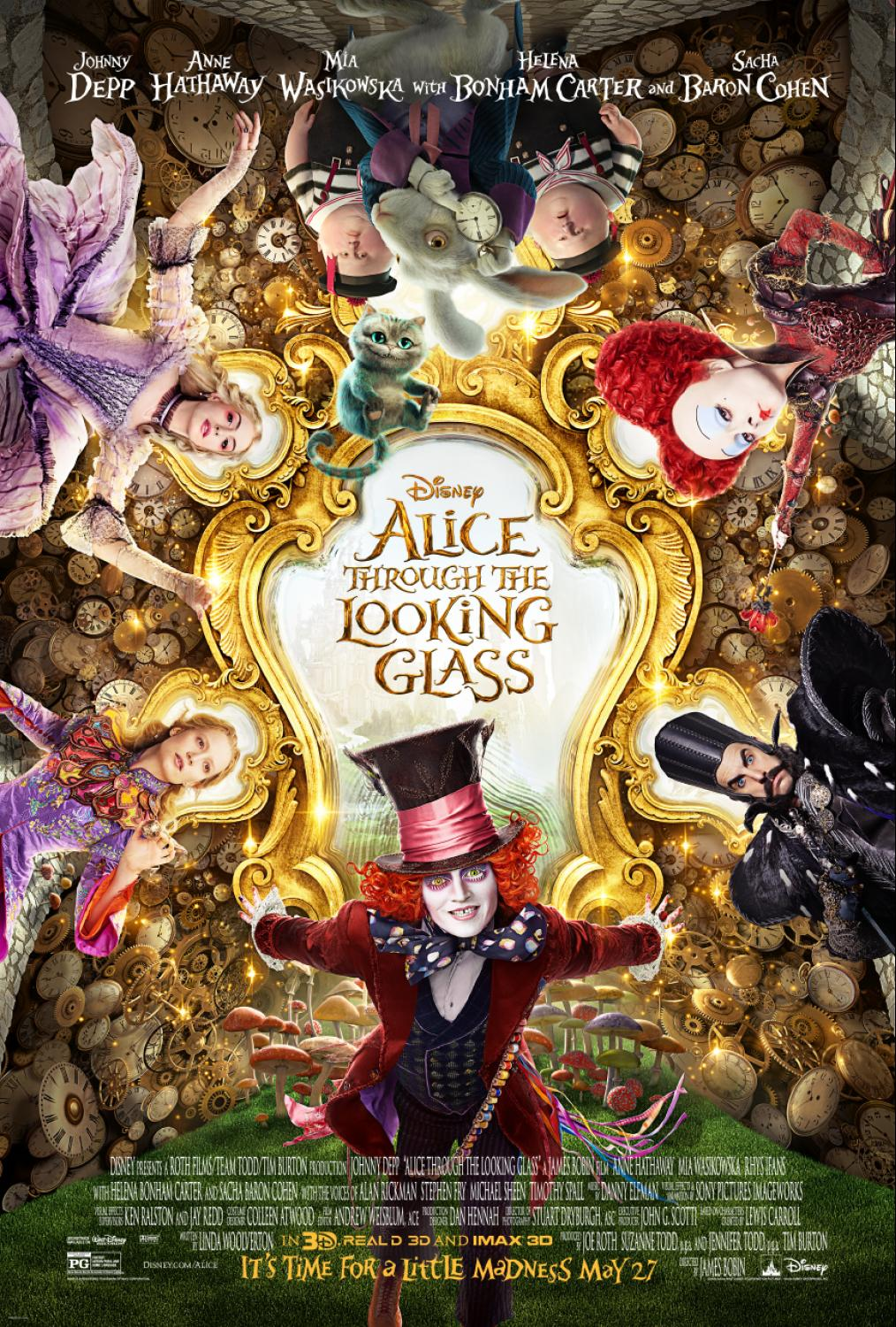 Through The Looking Glass Quotes Mom Among Chaos Alice Through Looking Glass 2016