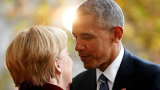 Lo dijo en Alemania y en alusión al vínculo que el presidente electo republicano mantiene con el ruso Vladimir Putin.