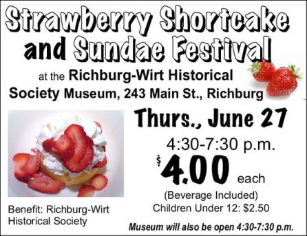 6-27 Strawberry Festival, Richburg, NY