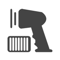 Icon Barcode Scanner
