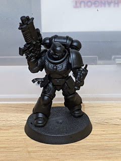 Assembled and primed Black