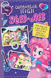 MLP Equestria Girls: Canterlot High Tell-All Book Media
