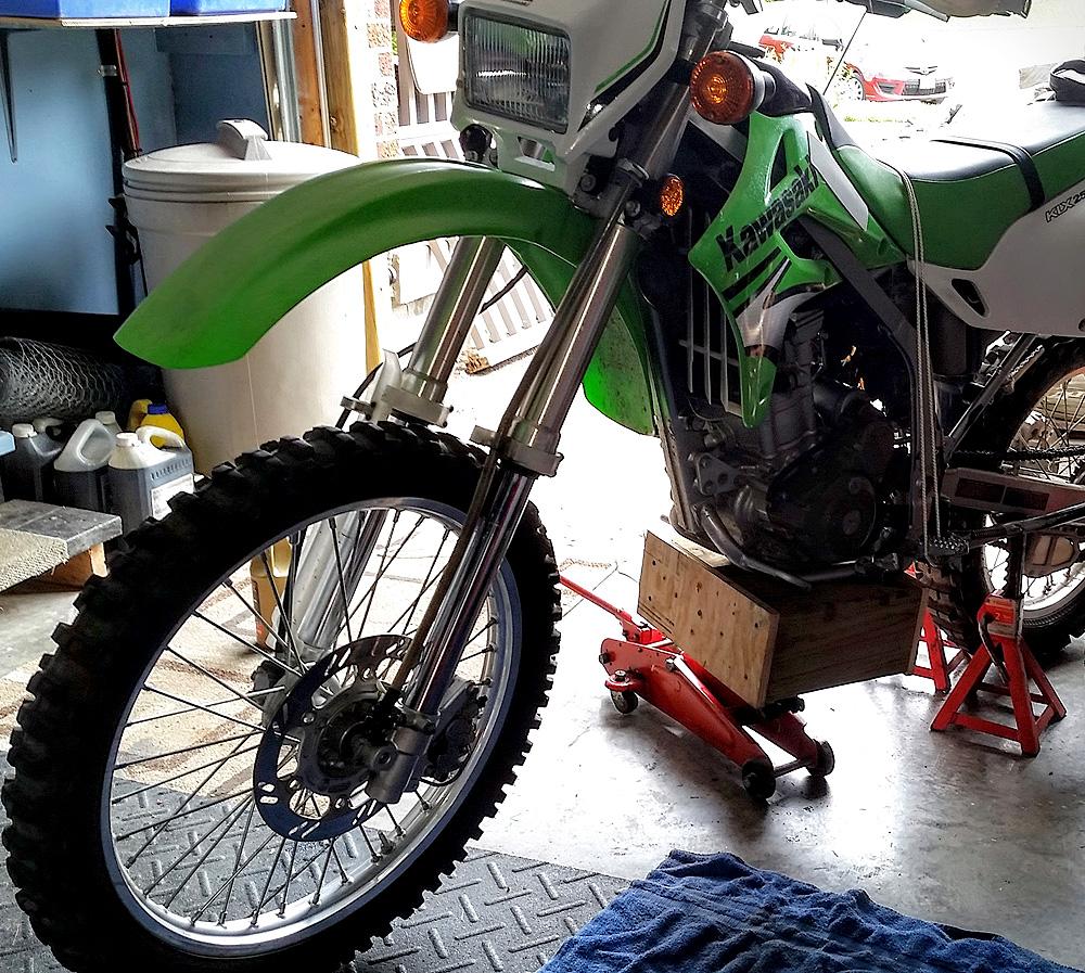 Kawasaki KLX250 Suspension Adjustment