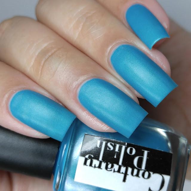 Contrary Polish - Blue Raspberry