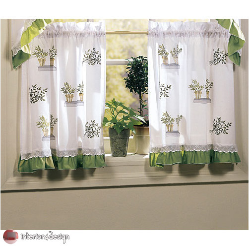 Elegant Kitchen Curtains 11