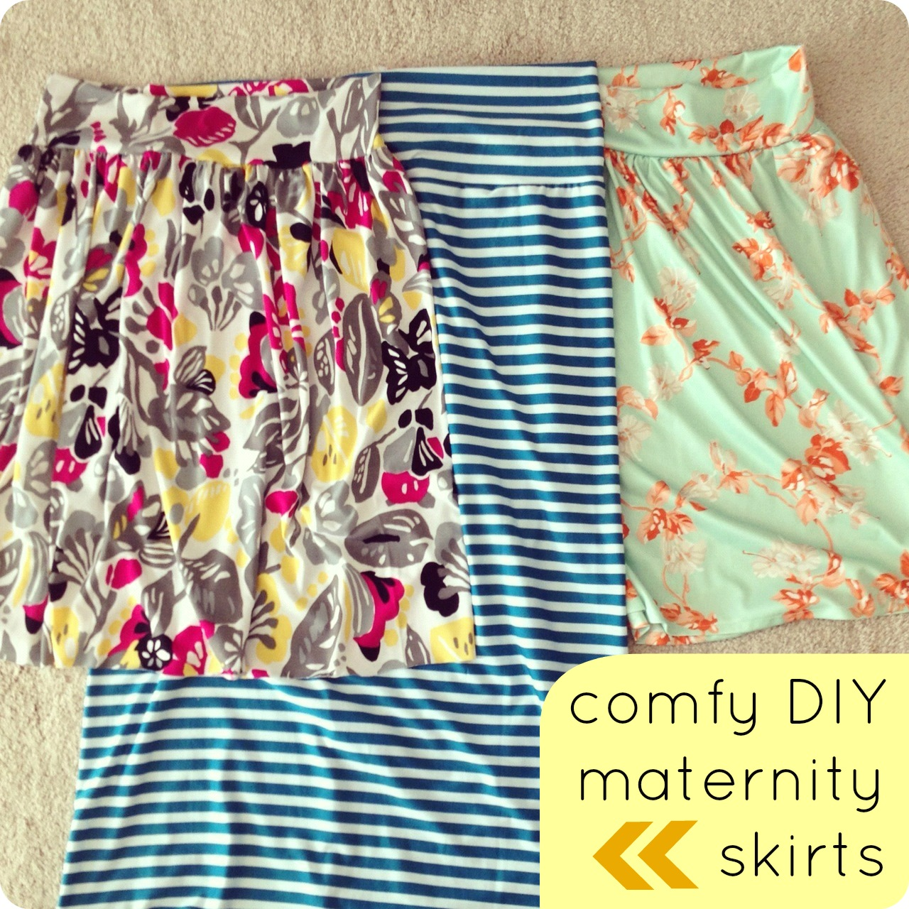 Diy Maternity Clothes Comfy Diy Maternity Skirts