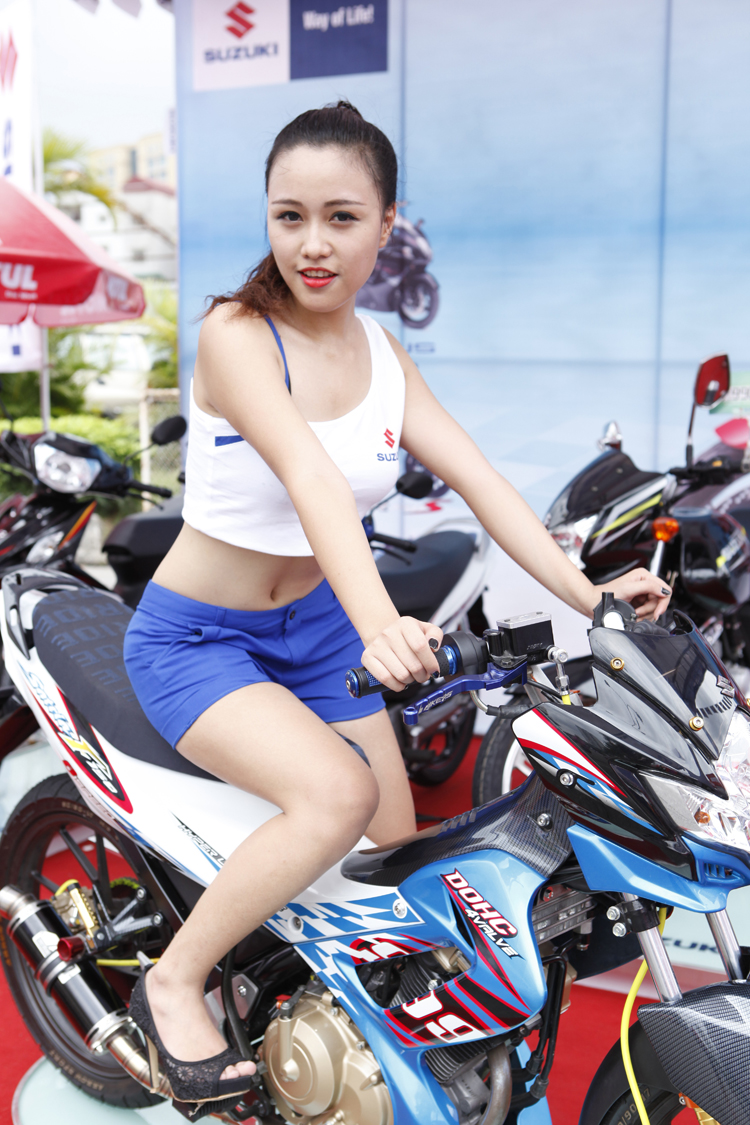 Motul girl at Motul Stunt fest