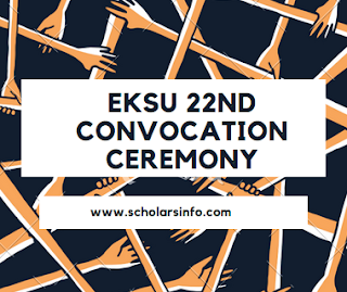 EKSU 22nd Convocation Ceremony