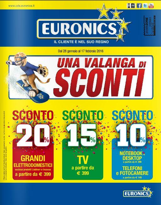 ultimo Volantino Euronics Butali - Febbraio 2016 - Nuovo