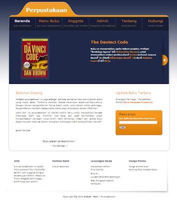 Sistem Informasi Perpustakaan KS dengan PHP MySQL Gratis