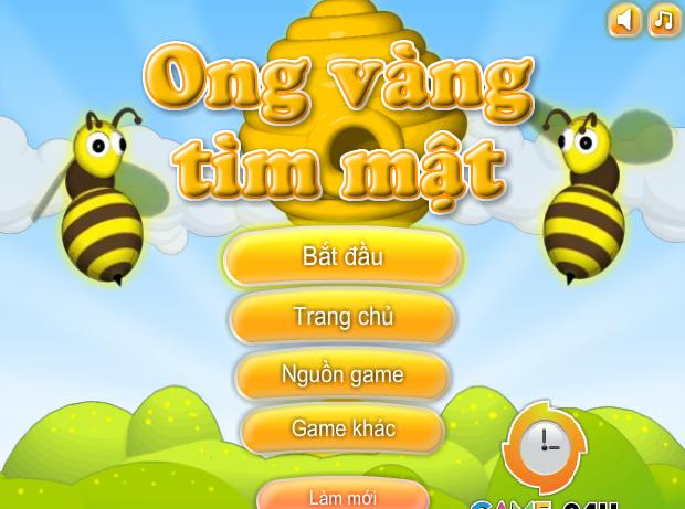 Ong vàng tìm mật