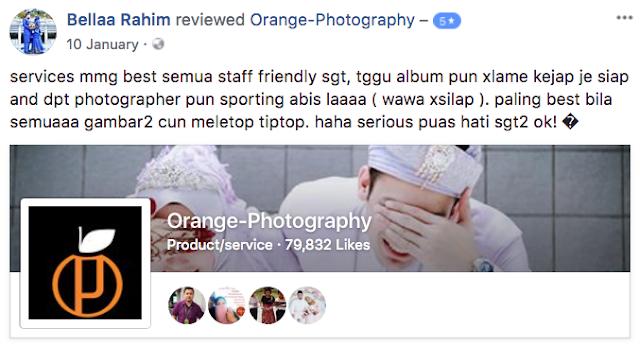 Pakej Fotografi Perkahwinan Testimoni
