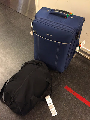 Reunited with Missing Baggage at Oslo Airport