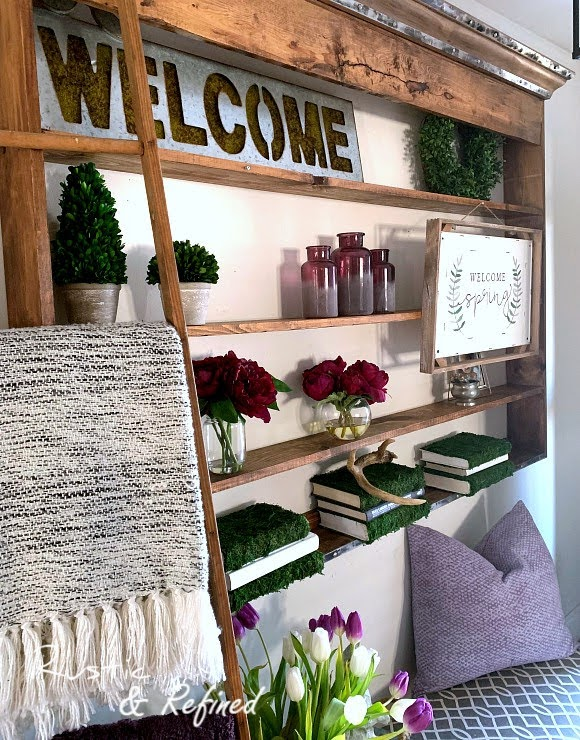 Spring Decor for the Entryway - adding seasonal touches like a pro
