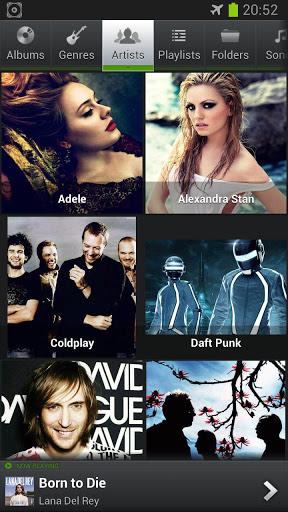 تطبيق تشغيل الموسيقي للاندرويد PlayerPro Music Player 4.81 Apk