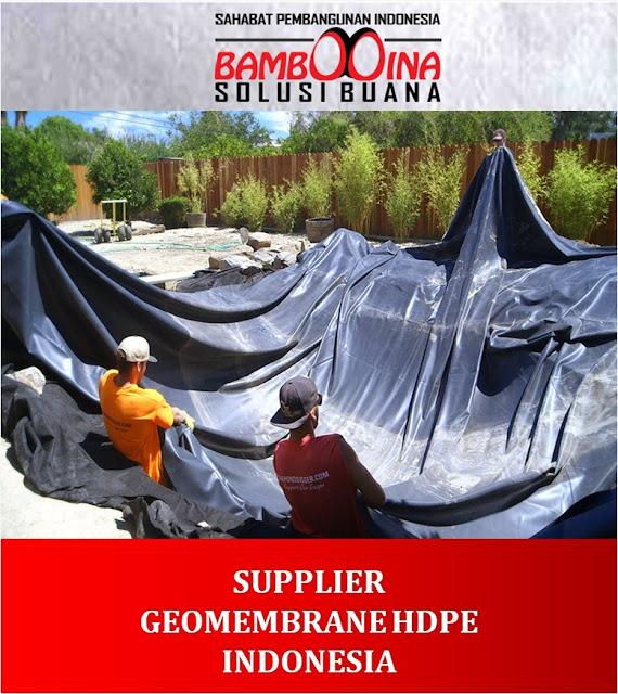 Jual Geomembrane HDPE Murah di Padangpanjang Sumatera Barat