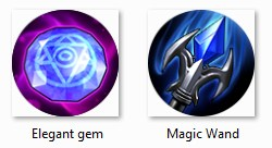 elegant gem dan magic wand mobile legends