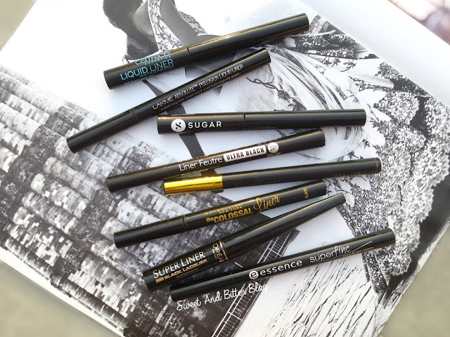 8 Black Felt-Tip Liquid Eyeliners in India (Swatches and Compared)