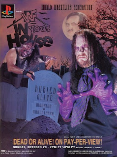 WWF / WWE - In Your House 11: Buried Alive - Event Poster